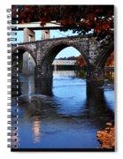 The Five Bridges - East Falls - Philadelphia Spiral Notebook