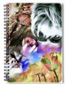 The Five Senses Spiral Notebook