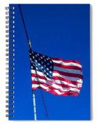 The Flag Of Usa  Spiral Notebook