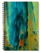 The Flair Of The Flame Abstract Spiral Notebook