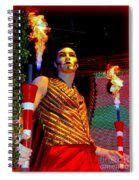 The Flame Thrower Spiral Notebook