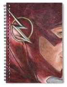 The Flash / Grant Gustin Spiral Notebook