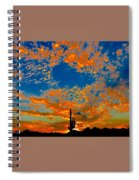 The Flavor Of The Sky Spiral Notebook