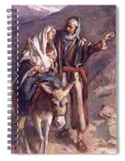 The Flight Into The Egypt Spiral Notebook
