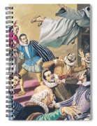 The Flight Of Father Dominic Spiral Notebook