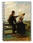 The Flirtation Spiral Notebook