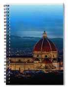 The Florence Cathedral  Spiral Notebook