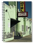 The Flores Motel Spiral Notebook