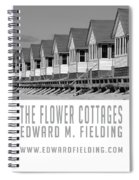 The Flower Cottages By Edward M. Fielding Spiral Notebook
