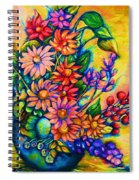 The Flower Dance Spiral Notebook