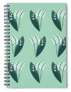 The Flower Garden Spiral Notebook
