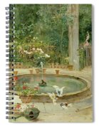 The Flower Garden Spiral Notebook