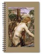 The Flower Picker Study John William Waterhouse Spiral Notebook