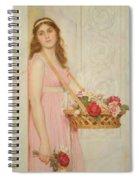 The Flower Seller Spiral Notebook