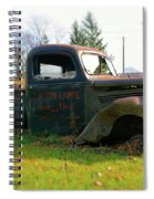 The Flower Truck Spiral Notebook
