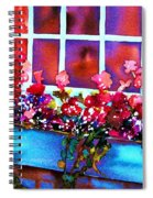 The Flowerbox Spiral Notebook