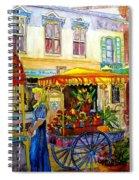 The Flowercart Spiral Notebook