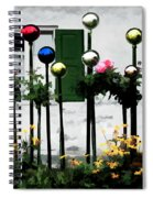 The Flowers And The Balls Spiral Notebook