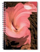 The Flowers Are Dancing Spiral Notebook