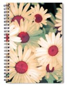 The Flowers At 5 Am Spiral Notebook