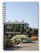 The Flowers At The Battery Charleston Sc Spiral Notebook