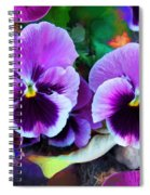 The Flowers Of Eleanor  Spiral Notebook