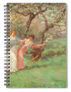 The Flowers Of May Spiral Notebook