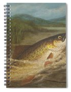 The Fly Fisherman's Net Spiral Notebook