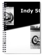 The Flying Frenchman Indy 500 1927 Leon Duray Spiral Notebook