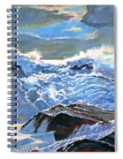 The Foaming Sea Spiral Notebook