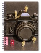 The Focus On Film Corporation Spiral Notebook
