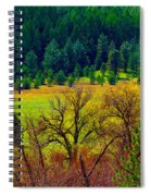 The Forest Echoes With Laughter Spiral Notebook