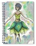 The Forest Sprite Spiral Notebook