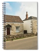 The Forge And Blacksmith's Cottage Mylor Bridge Spiral Notebook