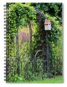 The Forgotten Garden Spiral Notebook