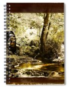 The Forgotten Watermill Wheel Spiral Notebook