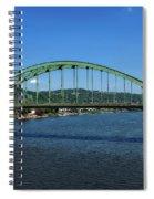 The Fort Henry Bridge - Wheeling West Virginia Spiral Notebook