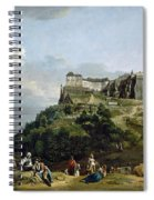 The Fortress Of Konigstein Spiral Notebook