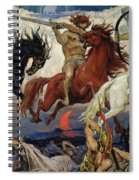 The Four Horsemen Of The Apocalypse Spiral Notebook