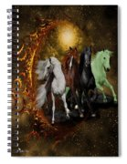 The Four Horses Of The Apocalypse Spiral Notebook