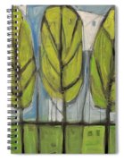 the Four Seasons - spring Spiral Notebook