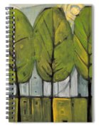 The Four Seasons - Summer Spiral Notebook