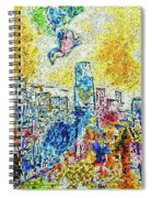 The Four Seasons Chicago Portrait Spiral Notebook