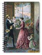 The Four Seasons Of Life  Middle Age Spiral Notebook
