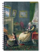 The Four Seasons Of Life  Old Age Spiral Notebook
