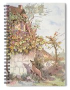 The Fox And The Grapes Spiral Notebook