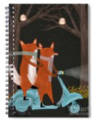 The Fox Mobile Spiral Notebook