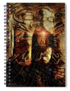 The Freedom Is In The Mind Spiral Notebook