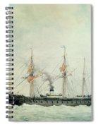 The French Battleship Spiral Notebook