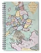 The French Invasion Spiral Notebook